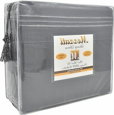 Mezzati Set Soft and Comfortable Microfiber Bedding