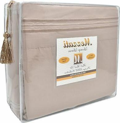 Mezzati Waterbed Sheets Soft Microfiber