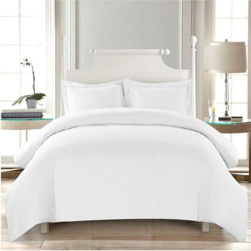Dreaming Casa White Comfort Ultra Soft Duvet Cover Set Comfo