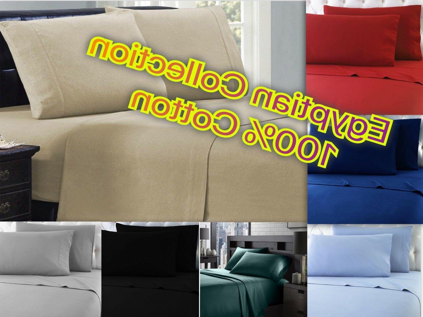 winter 100 percent cotton sheet set egyptian