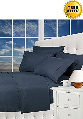 wrinkle resistant luxury bed sheet
