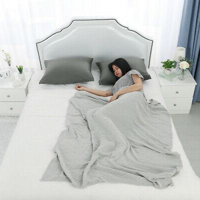Zippered Pillow Cases Cover Cotton Standard Queen