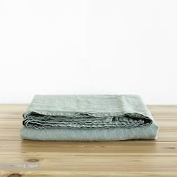 Linen SHEET Queen King Twin Stone Washed flax organic beddin