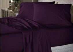 Luxor Impressions 100% Egyptian Cotton Sheet Set 650 TC ~ Pl
