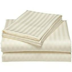 Luxor Impressions 100% Egyptian Cotton Sheet Set 650 TC ~ Ca