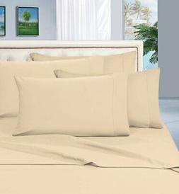 Elegant Comfort Luxurious Bed Sheets Set on Amazon 1500 Thre