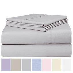 Luxurious Cotton Rich 600 Thread Count Bed Sheet Sets - Soft