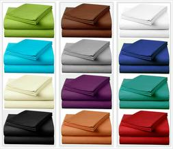 Luxurious Hotel Quality Solid Bedding Item 100% Cotton 400 T
