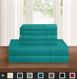 Elegant Comfort Luxurious Soft 1500 Thread Count Egyptian 6-
