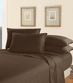Luxury Bed Sheet Set on Amazon! Elegant Comfort Three-Line D