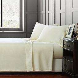 Luxury 4-Piece Bed Sheet Set 100% Cotton 1000 Thread Count-U