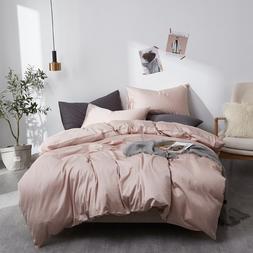 Luxury Egypt Cotton <font><b>solid</b></font> color Bedding