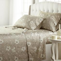 Luxury Extra Deep Pocket 100-percent Cotton Sateen Mystic Pr