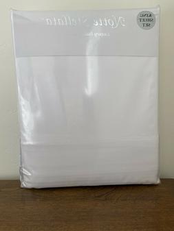 Notte Stellata Luxury Italian Linens King Sheet Set 100 % Co