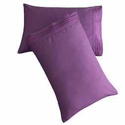 SONORO KATE Luxury Pillowcase Set Brushed Microfiber 1800 Be