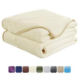 EASELAND Soft King Size Blanket All Season Winter Warm Fuzzy