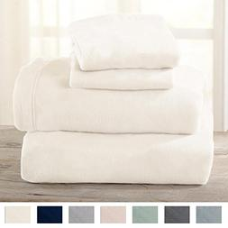 Maya Collection Super Soft Extra Plush Polar Fleece Sheet Se