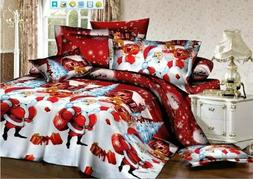 Merry Christmas Bedding sets Gift Duvet Cover&pillowcase&She