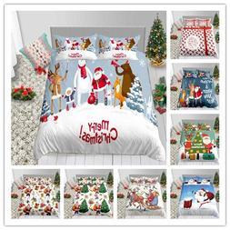 Merry Christmas Santa Claus Bedding Set High Quality Duvet C