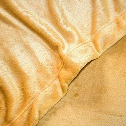 Cozy Fleece Microplush Sheet Set, Cal King, Wheat