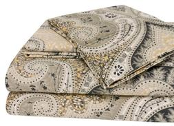 Elite Home Products Milano Paisley Collection 300 Thread Cou