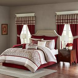 Madison Park Essentials Jelena King Size Bed Comforter Set R
