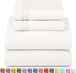 Nestl Luxury Queen Sheet Set - 4 Piece Extra Soft 1800 Micro