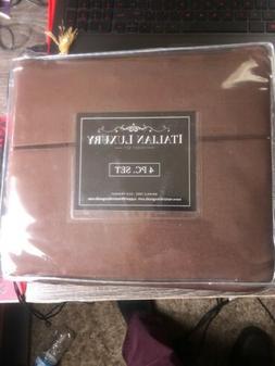 New Italian luxury 4 pc Egyptian Luxury 1800 Series sheet se