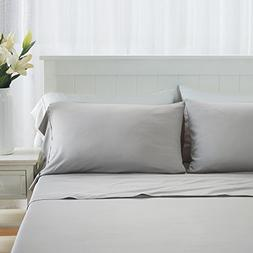 DTY Bedding Premium King Bamboo Sheets - Luxuriously Soft an