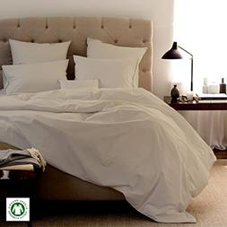 Organic Bed Sheets-Size-CAL-KING, Color-IVORY sheets are com