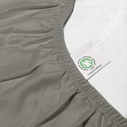 Whisper Organics Organic Cotton Fitted Sheet