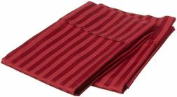 pillow cover home sweet home Burgundy Stripe Color Standard/
