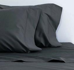 pillow cover home sweet home Dark Grey Solid Color Standard/