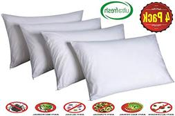 Pillow Protectors King Lab Certified Anti Allergy Dust Mite