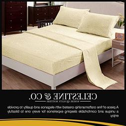 Polyester Bed Sheets  Wrinkle Free, Fade Free, Stain Resista