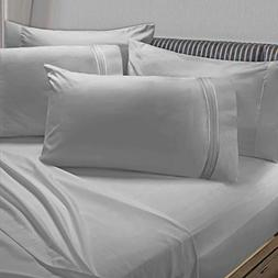 Clara Clark Premier 1800 Collection 6pc Bed Sheet Set with E