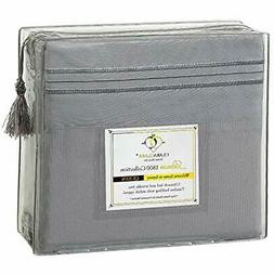 Premier Sheet & Pillowcase Sets 1800 Series 4pc Bed - Cal Ki