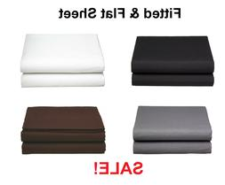 Premium™ Collection Single Fitted and Flat Sheet 1500 Coun