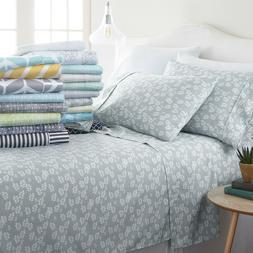 Home Collection Premium Soft 4 Piece Sheet Set - 18 Designer