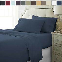 Egyptian Comfort Premium Ultra Soft 4 Piece Deep Pocket Bed