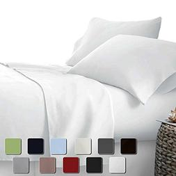 "Rajlinen Presents - 4 PC SHEET SET 15"" DEEP pocket - 400 TC"