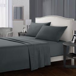 Pure Color Bedding Set <font><b>Bed</b></font> Linens Flat <