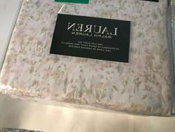 Ralph Lauren King Sheet Set  Cotton XDeep Fitted Tan Pink Gr