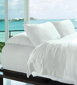 Cariloha Resort Bamboo Sheets by 4 Piece bed Sheet Set - Lux