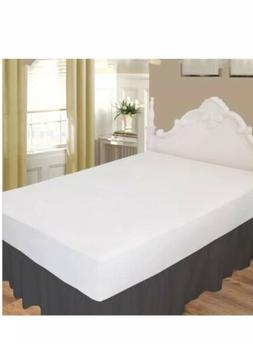 ARlinen Ruffled/Gathering Solid Bed Skirt-Microfiber Califor