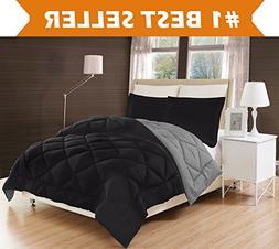 Elegant Comfort All Season Comforter and Year Round Medium W
