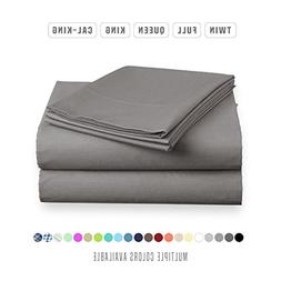 Luxe Bedding Sets - Microfiber California King Sheets Set 4