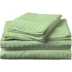 Sheets Set 4 PCs - 100% Cotton - 400 TC -22 Inch Deep Pocket