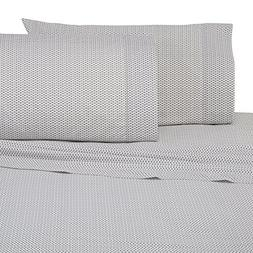 Under The Canopy Siesta Brushed Organic Cotton Sheet Set, Ki