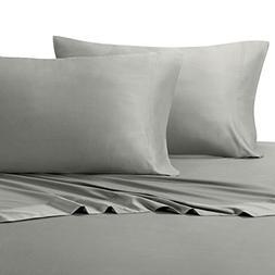 Royal Hotel Silky Soft Bamboo King Cotton Sheet Set - Gray